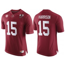 Alabama Crimson Tide #15 Ronnie Harrison Crimson 2017 National Championship Bound Limited College Football Jersey