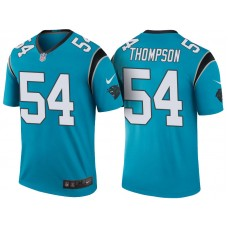 Carolina Panthers #54 Shaq Thompson Blue Color Rush Legend Jersey