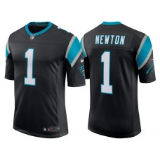 Carolina Panthers #1 Cam Newton Black Classic Limited Player Jersey