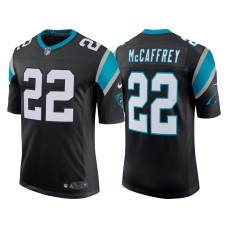 Carolina Panthers #22 Christian McCaffrey Black Classic Limited Jersey