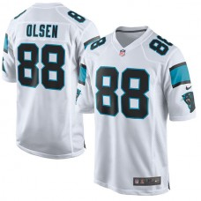 Carolina Panthers #88 Greg Olsen White Game Event Jersey (Pre-Order)
