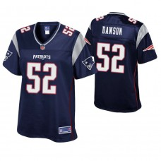 New England Patriots #52 Duke Dawson 2018 Draft Navy Player Pro Line Jersey