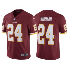 2017 Washington Redskins #24 Josh Norman Burgundy Vapor Untouchable Limited Jersey