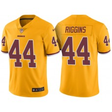 Light Up Thursday Night - Washington Redskins #44 John Riggins Gold Color Rush Limited Jersey