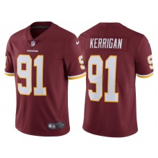 2017 Washington Redskins #91 Ryan Kerrigan Burgundy Vapor Untouchable Limited Jersey