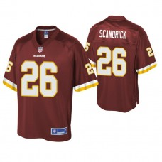 Youth Washington Redskins #26 Orlando Scandrick Burgundy Player Pro Line Jersey
