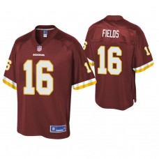 Youth Washington Redskins #16 Shay Fields Burgundy Player Pro Line Jersey