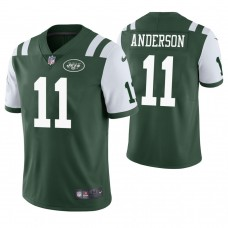 New York Jets #11 Robby Anderson Green Vapor Untouchable Limited Jersey