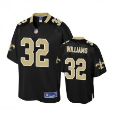 Youth New Orleans Saints #32 Jonathan Williams Black Player Jersey