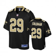 Youth New Orleans Saints #29 Kurt Coleman Black player Jersey
