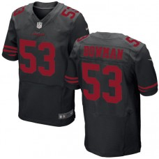 San Francisco 49ers #53 NaVorro Bowman Elite Black Jersey
