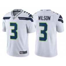2017 Seattle Seahawks #3 Russell Wilson White Vapor Untouchable Limited Jersey