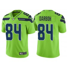 Seattle Seahawks #84 Amara Darboh Neon Green Vapor Untouchable Color Rush Limited Jersey