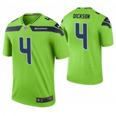 Seattle Seahawks #4 Michael Dickson Green Color Rush Legend Jersey