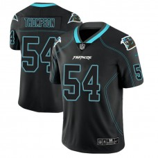 Carolina Panthers #54 Shaq Thompson 2018 Lights Out Color Rush Limited Black Jersey