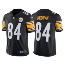 2017 Pittsburgh Steelers #84 Antonio Brown Black Vapor Untouchable Limited Jersey