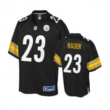Youth Pittsburgh Steelers #23 Joe Haden Black Team Color Player Jersey