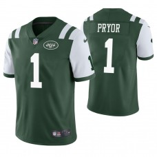 New York Jets #1 Terrelle Pryor Green Vapor Untouchable Limited Jersey