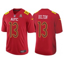 2017 Pro Bowl AFC T.Y. Hilton Red Game Jersey