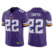2017 Minnesota Vikings #22 Harrison Smith Purple Vapor Untouchable Limited Jersey