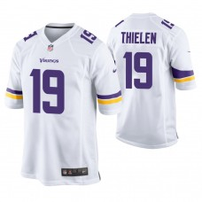 Minnesota Vikings #19 Adam Thielen White Game Jersey