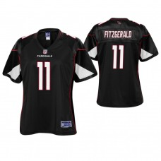Women's Arizona Cardinals #11 Larry Fitzgerald Black Pro Line Player Jersey