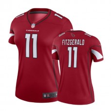 Women's Arizona Cardinals #11 Larry Fitzgerald Cardinal Legend Jersey