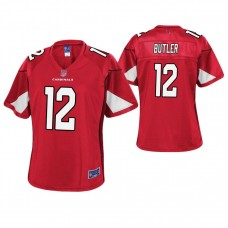 Women's Arizona Cardinals #12 Brice Butler Cardinal Pro Line Player Jersey