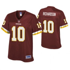 Women's Washington Redskins #10 Paul Richardson Burgundy Pro line Player Jersey