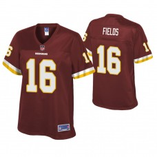 Women's Washington Redskins #16 Shay Fields Burgundy Pro Line Player Jersey