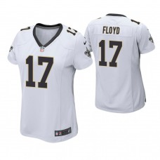 Women's New Orleans Saints #17 Michael Floyd White Game Jersey