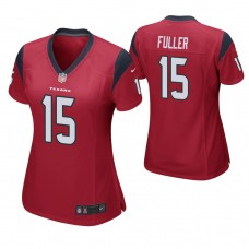 Women's Houston Texans #15 Will Fuller Red Game Jersey