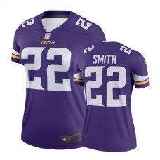 Women's Minnesota Vikings #22 Harrison Smith Purple Legend Jersey