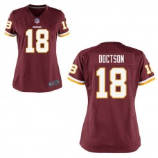 Women's Washington Redskins #18 Josh Doctson Burgundy Game Jersey