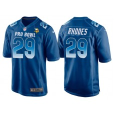 2018 Pro Bowl NFC Minnesota Vikings #29 Xavier Rhodes Royal Game Jersey