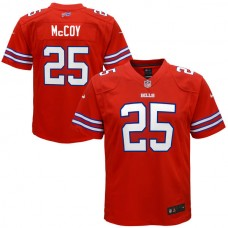 Youth Buffalo Bills #25 LeSean McCoy Red Color Rush Game Jersey
