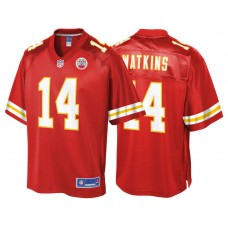 Youth Kansas City Chiefs #14 Sammy Watkins Red Pro Line Team Color Jersey