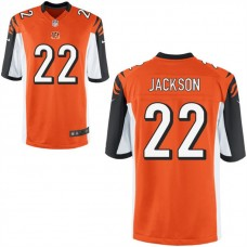 Youth Cincinnati Bengals #22 William Jackson III Orange Game Jersey