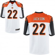 Youth Cincinnati Bengals #22 William Jackson III White Game Jersey