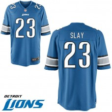 Youth Detroit Lions #23 Darius Slay Blue Game Jersey