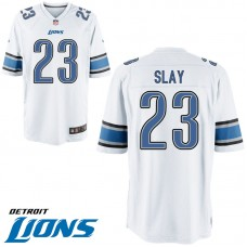 Youth Detroit Lions #23 Darius Slay White Game Jersey