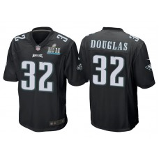 Youth Philadelphia Eagles #32 Rasul Douglas Black Super Bowl LII Bound Game Jersey