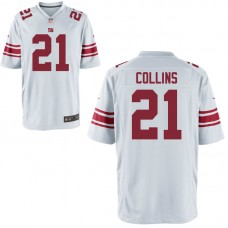 Youth New York Giants #21 Landon Collins White Game Jersey