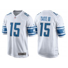 Youth 2017 Detroit Lions #15 Golden Tate White Game New Jersey
