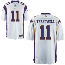 Youth Minnesota Vikings #11 Laquon Treadwell White Alternate Game Jersey