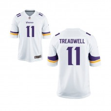 Youth Minnesota Vikings #11 Laquon Treadwell White Game Jersey