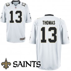 Youth New Orleans Saints #13 Michael Thomas White Game Jersey