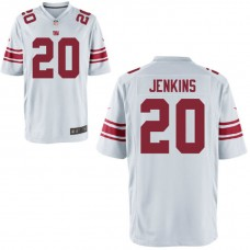 Youth New York Giants #20 Janoris Jenkins White Game Jersey