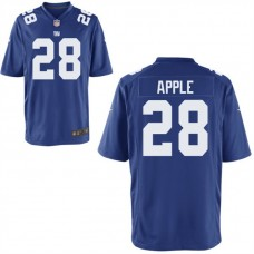 Youth New York Giants #28 Eli Apple Royal Game Jersey