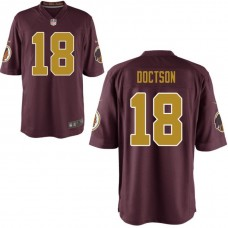 Youth Washington Redskins #18 Josh Doctson Burgundy Alternate Game Jersey